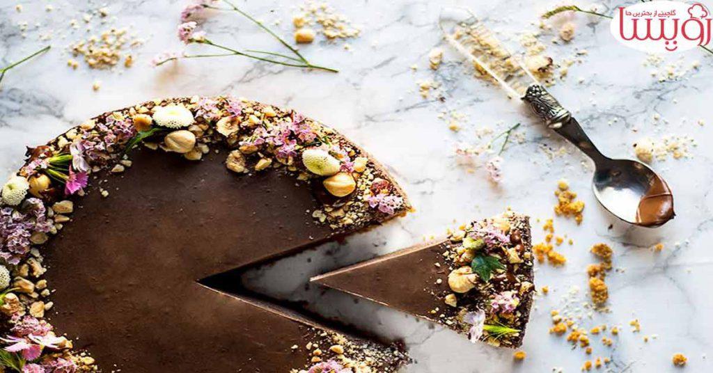 طرز تهیه کیک شکلاتی با روکش گاناش- مجله زندگی رویسا