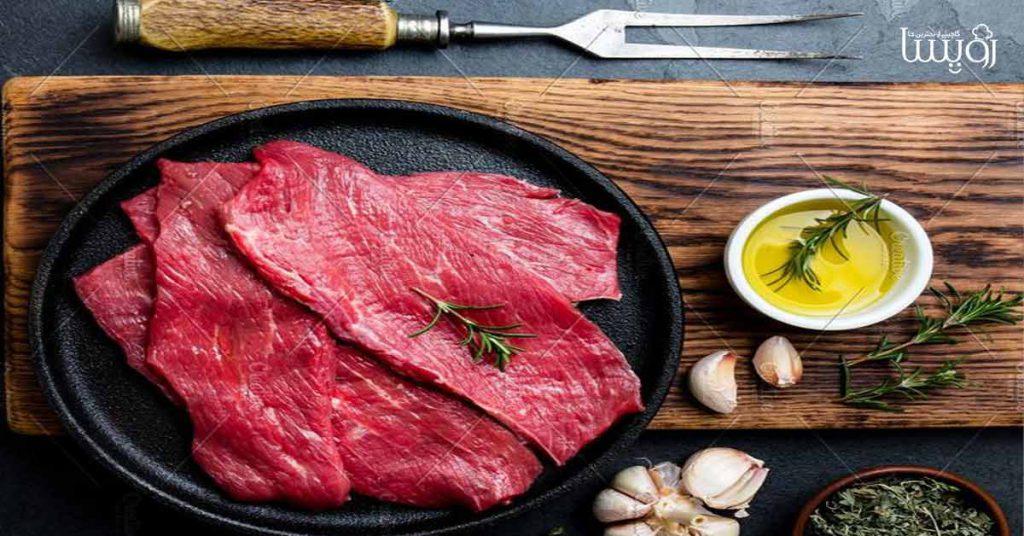 طرز تهیه استیک گوشت با سس مخصوص - مجله زندگی رویسا