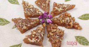 طرز تهیه باستخ یا لوزانک از سوغات ارومیه- مجله زندگی رویسا